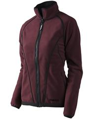 Куртка Kanu Lady fleece Burgundy/Pirate black