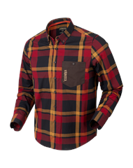 Рубашка Harkila Amlet Red/Black check